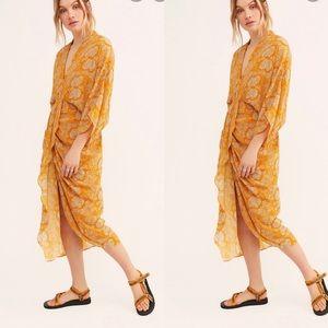New Free People x Vetiver Retrograde Kimono Dress